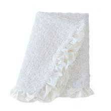 Baby Ruffle Dog Blanket by Hello Doggie - Vintage