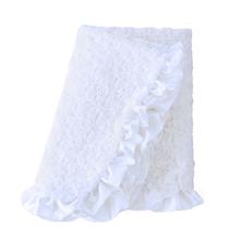 Baby Ruffle Dog Blanket by Hello Doggie - Heaven