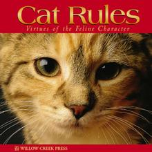 Cat Rules Book for Humans; Virtues of the Feline Character