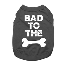 Bad to the Bone Dog Shirt - Black