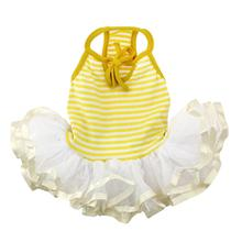 Ballerina Dog Dress by Parisian Pet - Yellow