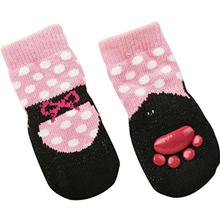 Ballet Slipper Dog Socks - Pink