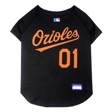 Baltimore Orioles Officially Licensed Dog Jersey - Black