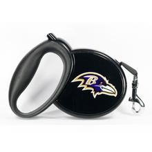 Baltimore Ravens Retractable Dog Leash