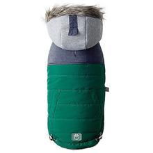 Cabin Elasto-fit Dog Jacket - Dark Green