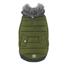 Banff Elasto-fit Dog Jacket - Kale Green