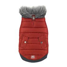 Banff Elasto-fit Dog Jacket - Sangria Red