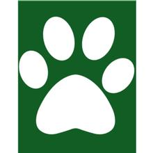 Bark Art Dog Paint Stencil - Paw
