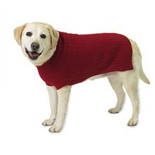 Barker's Basic Dog Sweater - Red