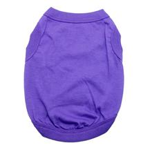 Barking Basics Dog Tank Shirt - Purple