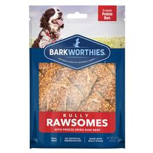 Barkworthies Bully Rawsomes Protein Bar Dog Treat - Freeze-Dried Raw Beef