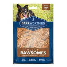 Barkworthies Bully Rawsomes Protein Bar Dog Treat - Freeze-Dried Raw Chicken