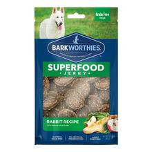 Barkworthies Rabbit Jerky Dog Treats - Apple and Kale