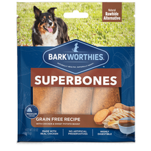 Barkworthies SuperBone Ancient Grain Dog Treat - Chicken and Sweet Potato