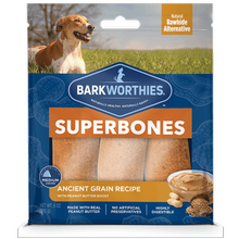Barkworthies SuperBone Ancient Grain Dog Treat - Peanut Butter