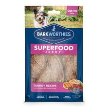 Barkworthies Turkey Jerky Dog Treats - Blueberry and Cranberries