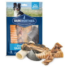 Barkworthies Variety Pack Dog Treats