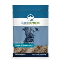 Barkworthies Venison Jerky Dog Treats