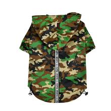 Base Jumper Windbreaker Dog Coat by Puppia - New Camo
