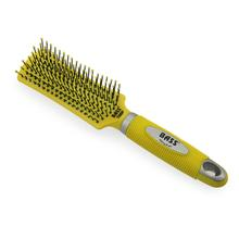 BASS Bathing Dog Brush - Yellow