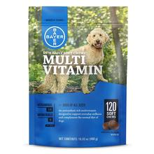 Bayer DVM Daily Soft Chews Multivitamin for Dogs