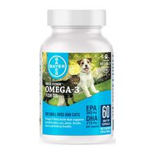 Bayer Free Form Snip Tips Omega-3 Supplement for Dogs and Cats