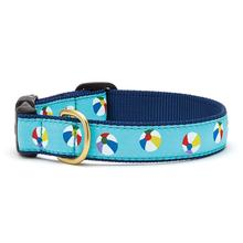 Beach Balls Dog Collar by Up Country