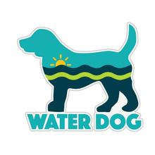 Water Dog Sticker by Dog Speak