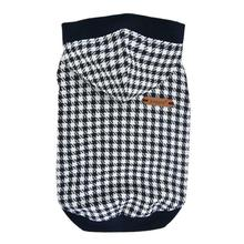 Collette Hooded Dog Shirt By Puppia - Navy