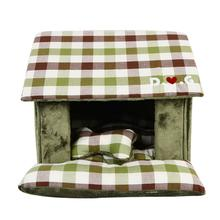 Beaufort House Dog Bed by Puppia - Olive