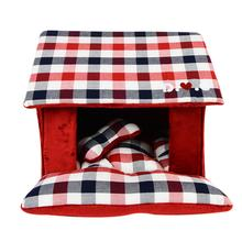 Beaufort House Dog Bed by Puppia - Wine