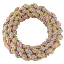 BECO Hemp Rope Jungle Ring Tough Dog Toy