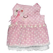Bella Fashionista Dog Harness Dress by Cha-Cha Couture - Pink
