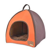 Berg House Dog Bed By Puppia Life - Orange