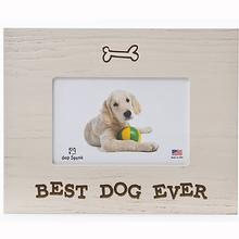Best Dog Ever Picture Frame by Dog Speak