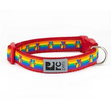 Rainbow Paws Adjustable Clip Dog Collar By RC Pets