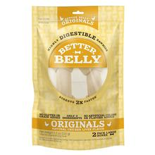 Better Belly Chicken Liver Rawhide Bones Dog Treat - Large