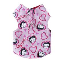 Betty Boop Hearts Harness Dog Vest