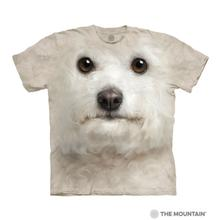 Bichon Frise Face Human T-Shirt by The Mountain