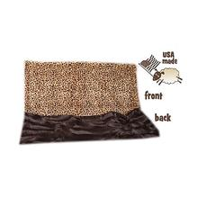 Big Baby Dog Blanket - Brown Cheetah