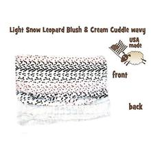 Big Baby Dog Blanket - Light Snow Leopard