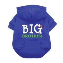 Big Brother Dog Hoodie - Blue