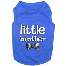 Parisian Pet Little Brother Dog Tank - Blue