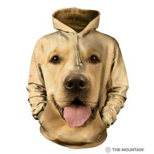 Big Face Golden - Human Hoodie by The Mountain