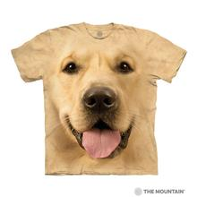 Big Face Golden Human T-Shirt by The Mountain