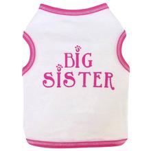 Big Sister Cotton Dog Tank Top