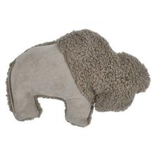Big Sky Bison Dog Toy by West Paw - Oatmeal