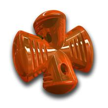 Bionic Stuffer Dog Toy- Orange