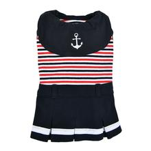 Nautical Dog Dress by Puppia - Navy