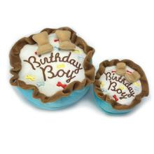 Birthday Boy Cake Plush Dog Toy
